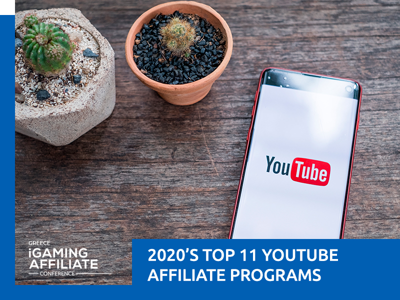 11 Best Youtube Affiliate Programs 2020