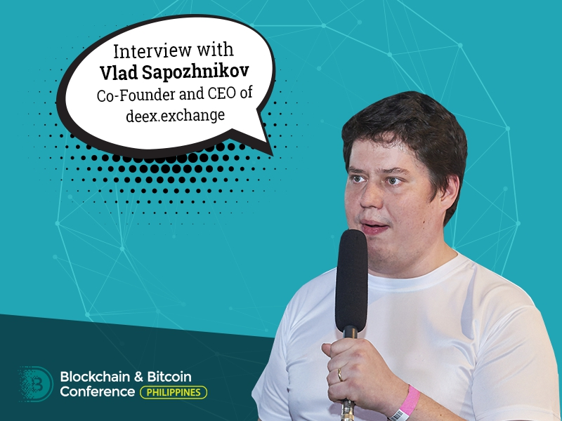 2017 was the year of great PR of crypto and blockchain – Vlad Sapozhnikov, CEO Deex.exhange
