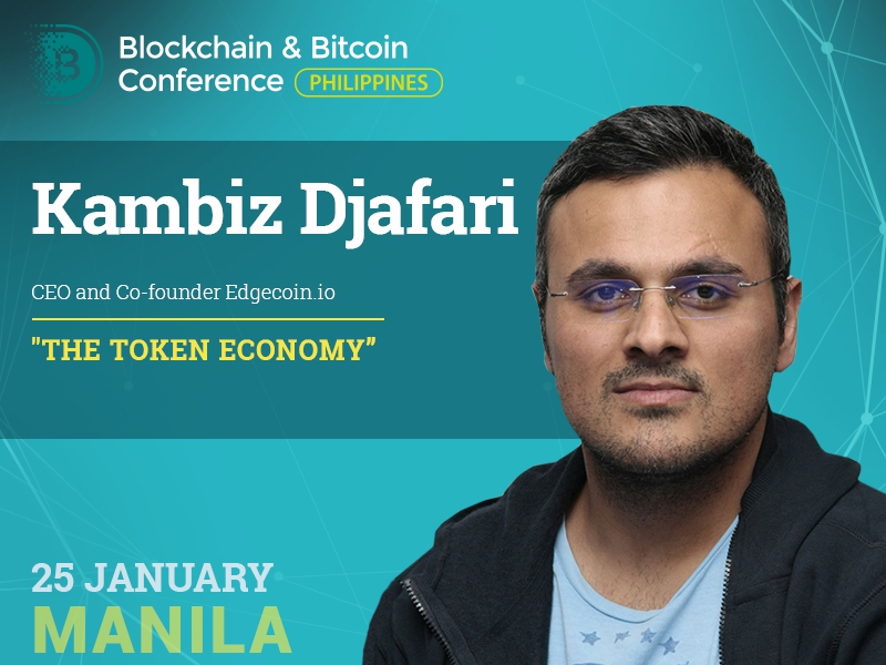 A blockchain expert Kambiz Djafari will unveil the spheres to be influenced by the tokenization in 2018