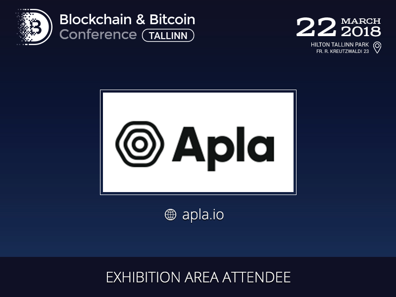 A blockchain platform Alpa to be showcased at the Blockchain & Bitcoin Conference Tallinn exhibition area