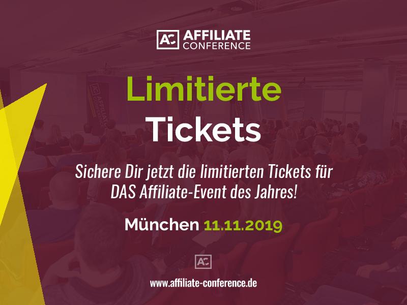 Affiliate Conference: Alternative Trackingtechnologien und innovative Publisher-Modelle zum Ausbau der Umsätze stehen im Blickpunkt des Konferenzprogramms für 2019