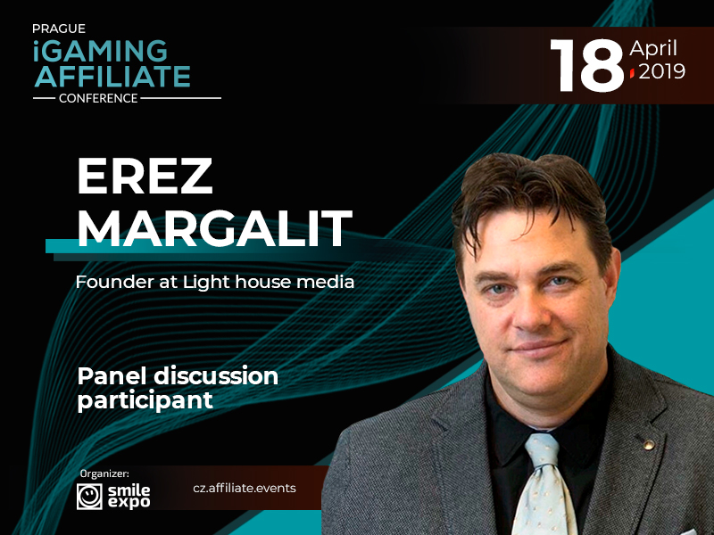 Affiliate Marketing Innovations in Gambling: Founder of Light House Media Erez Margalit Will Become a Participant of the Panel Discussion