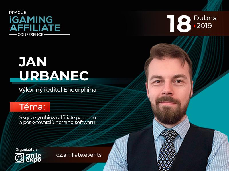 Affiliati a poskytovatelé softwaru v online hazardním průmyslu: přednáška CEO Endorphina Jana Urbance