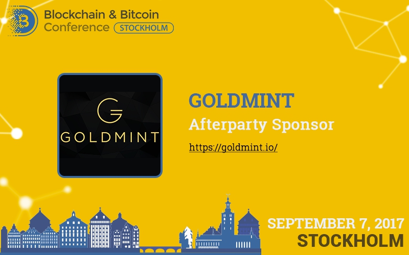 All participants of Blockchain & Bitcoin Conference are invited to afterparty by Goldmint