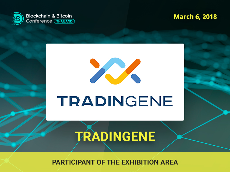 An auction blockchain-based platform Tradingene will participate at the Blockchain & Bitcoin Conference Thailand exhibition area