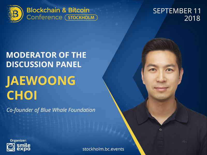 Analysing Innovative Blockchain Applications: Co-Founder at Blue Whale Foundation Jaewoong Choi Will Moderate a Panel Discussion