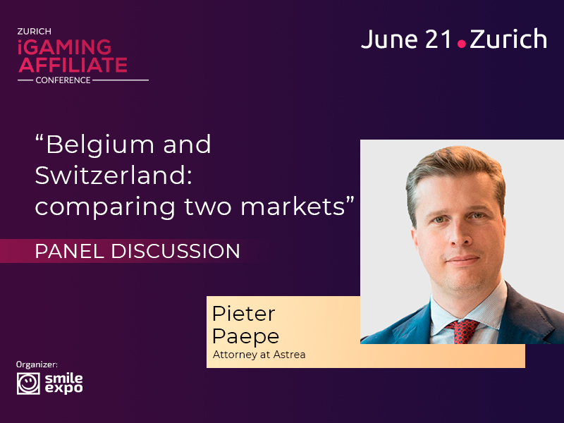 Attorney Pieter Paepe to Participate in Discussion on Gambling Market Features in Belgium and Switzerland