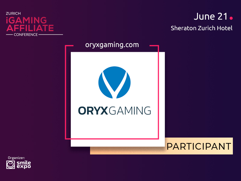 B2B Gaming Solution Provider – ORYX Gaming – to Be Exhibitor at the Conference