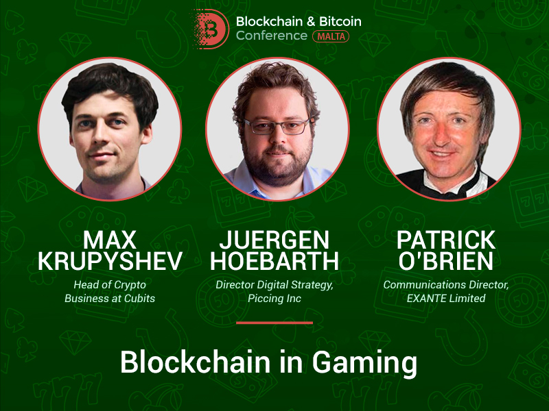 Blockchain and Gaming: Top Experts Will Share Real Use Cases
