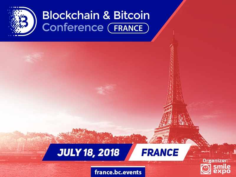 Blockchain & Bitcoin Conference France on July 18 Will Discuss European Cryptocurrency Regulation