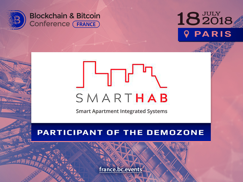 Blockchain & Bitcoin Conference France to show IoT blockchain platform