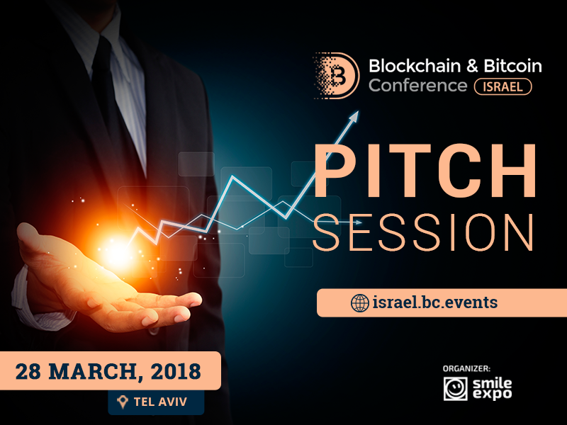 Blockchain & Bitcoin Conference Israel to feature pitch session for exhibition area participants