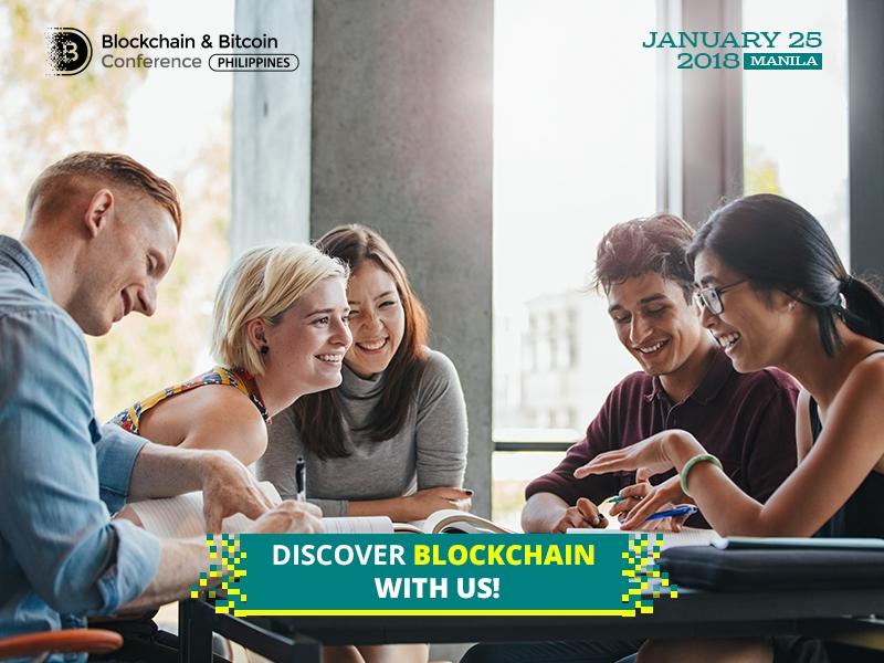 Blockchain & Bitcoin Conference Philippines invites students: 70% discount
