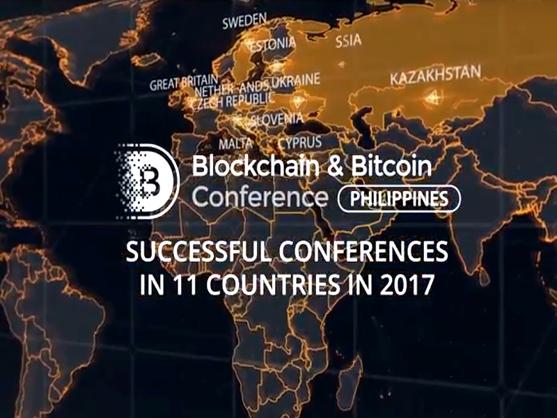 Blockchain & Bitcoin Conference Philippines: speakers from around the world to talk about cryptocurrencies and blockchain