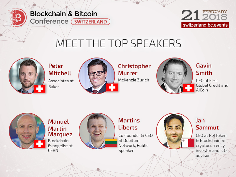 Blockchain & Bitcoin Conference Switzerland: meet conference program