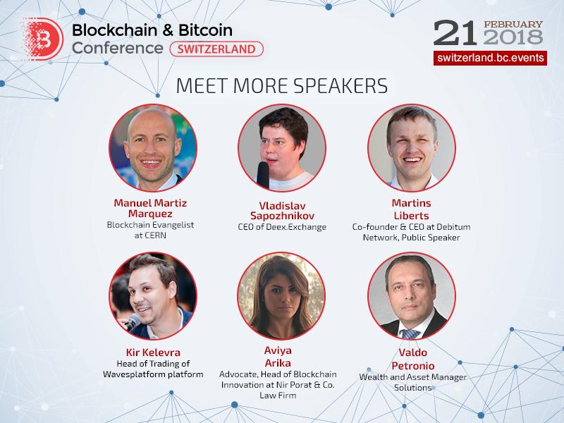 Blockchain & Bitcoin Conference Switzerland to discuss blockchain application in science