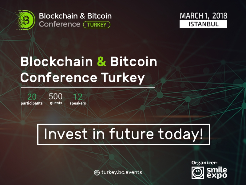 Blockchain & Bitcoin Conference Turkey: Istanbul to discuss blockchain technologies and future of digital economy