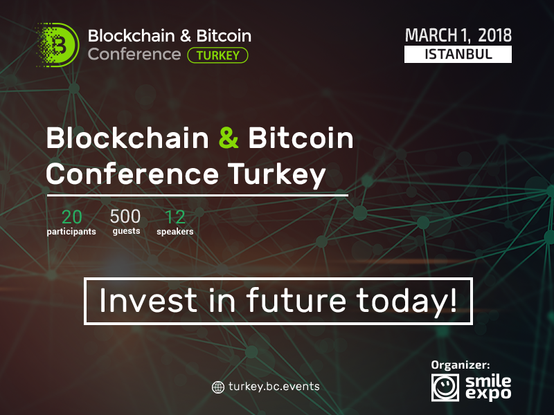 Blockchain & Bitcoin Conference Turkey: Istanbul to discuss blockchain technologies and future of digital economy