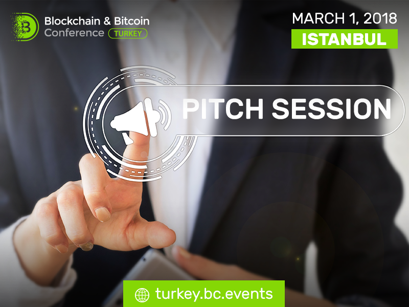 Blockchain & Bitcoin Conference Turkey to feature pitch session for exhibition area participants