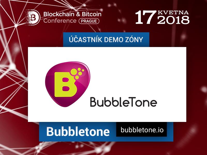 Blockchain BubbleTone představí aplikaci pro volání po celém světě na Blockchain & Bitcoin Conference Prague