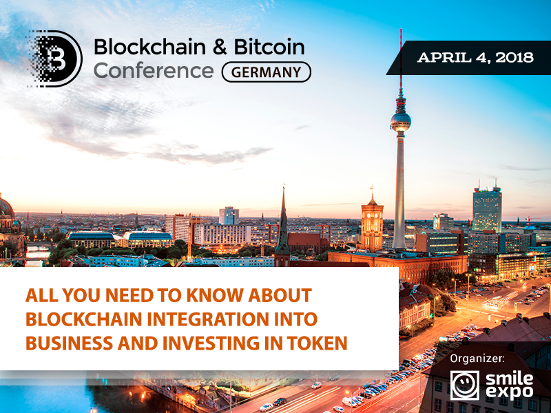 Blockchain for everyone: Why you should attend Blockchain & Bitcoin Conference Germany