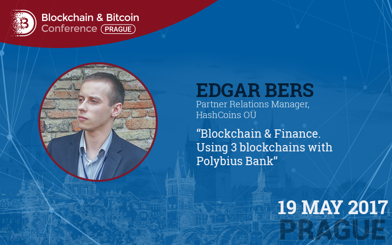 Blockchain in banking. Case story by HashCoins representative Edgar Bers