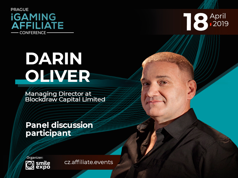 Blockchain in iGaming: to Be Discussed by Managing Director at Blockdraw Capital Limited – Darin Oliver