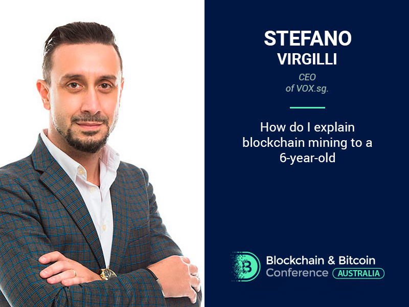 Blockchain Mining Will Become an Easy Process: Stefano Virgilli, CEO at VOX.sg, Will Make All Processes Clear