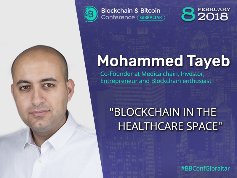 Blockchain specialist to talk about technology application in healthcare