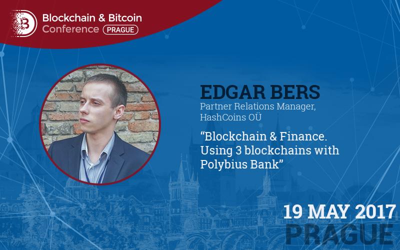 Blockchain v bankovnictví. Případ od zástupce HashCoins Edgara Bersa