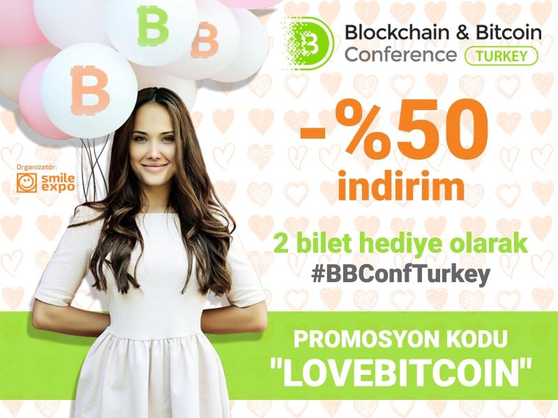 Blok Zincirine aşık olanlara özel: her bilet -%50 indirim fırsatıyla