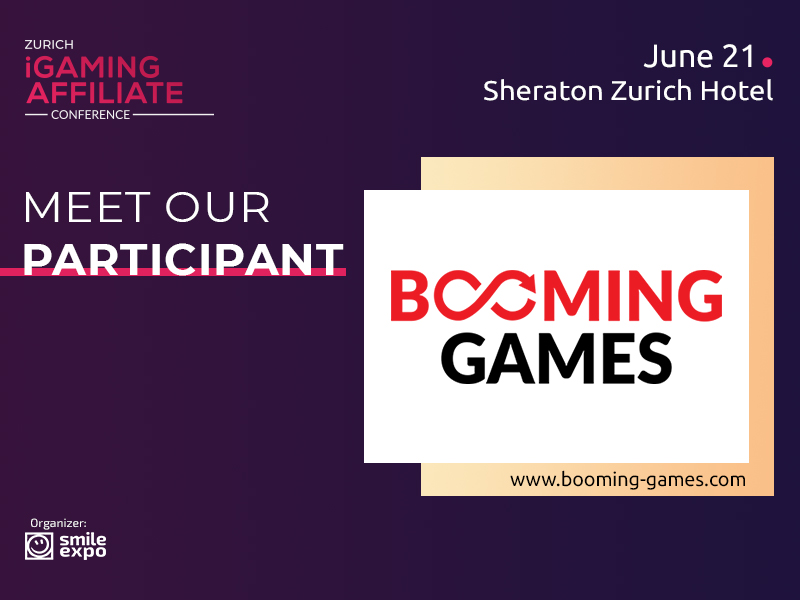 Booming Games Casino Content Provider to Become a Special Guest of Zurich iGaming Affiliate Conference