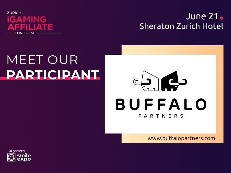 Buffalo Partners affiliate program is a guest of Zurich iGaming Affiliate Conference