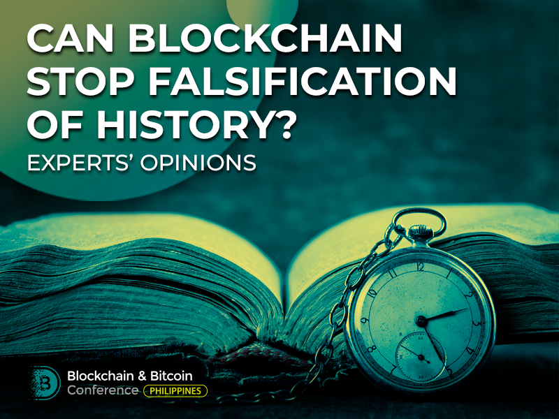 Can Blockchain Stop Falsification of History? Experts' Opinions