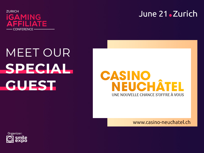 Casino Neuchâtel to Join Zurich iGaming Affiliate Conference