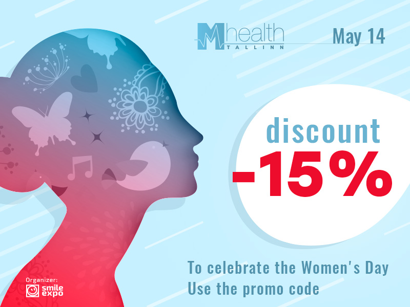 Celebrating March 8, M-Health Conference Tallinn presents a 15% discount on tickets