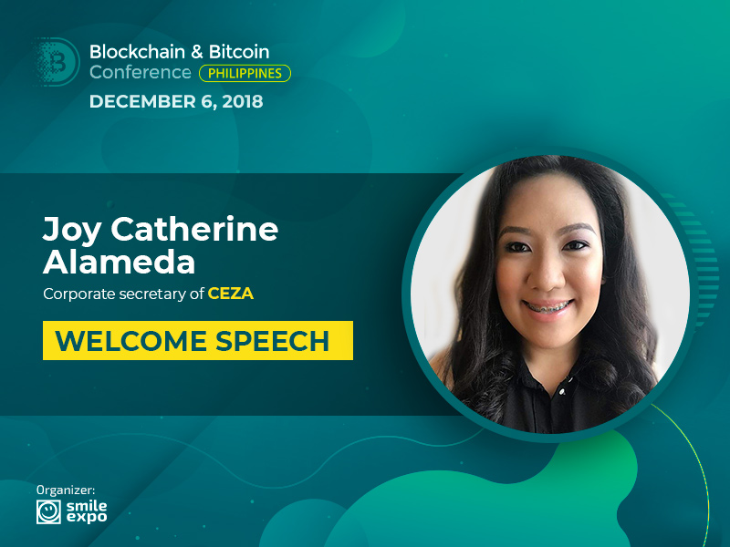 CEZA representatives to take part in Blockchain & Bitcoin Conference Philippines