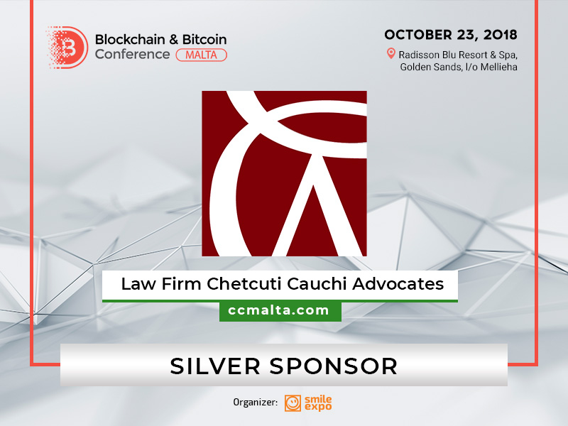 Chetcuti Cauchi Advocates Is a Silver Sponsor of the Blockchain & Bitcoin Conference Malta