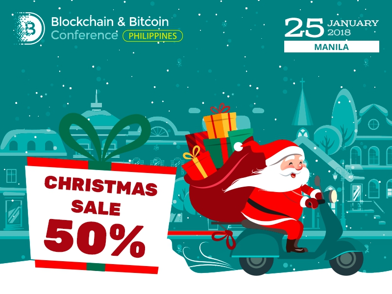 Christmas offer: half-price ticket to Blockchain & Bitcoin Conference Philippines