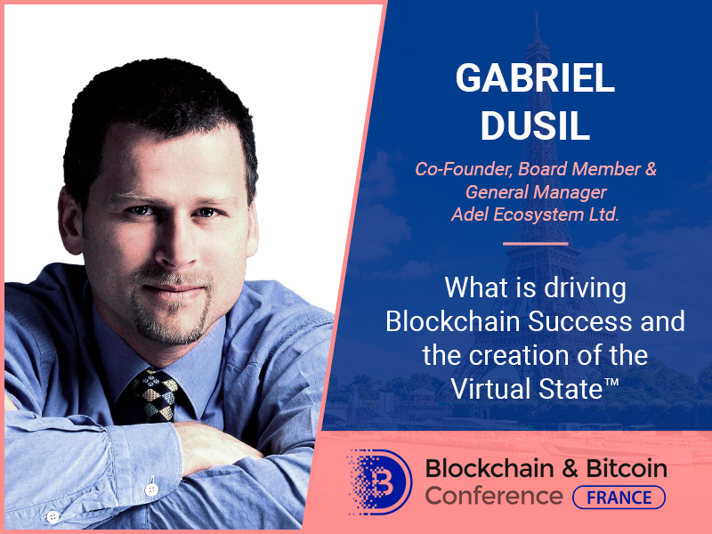 Co-Founder at Adel Gabriel Dusil to tell how blockchain tech is changing the globe
