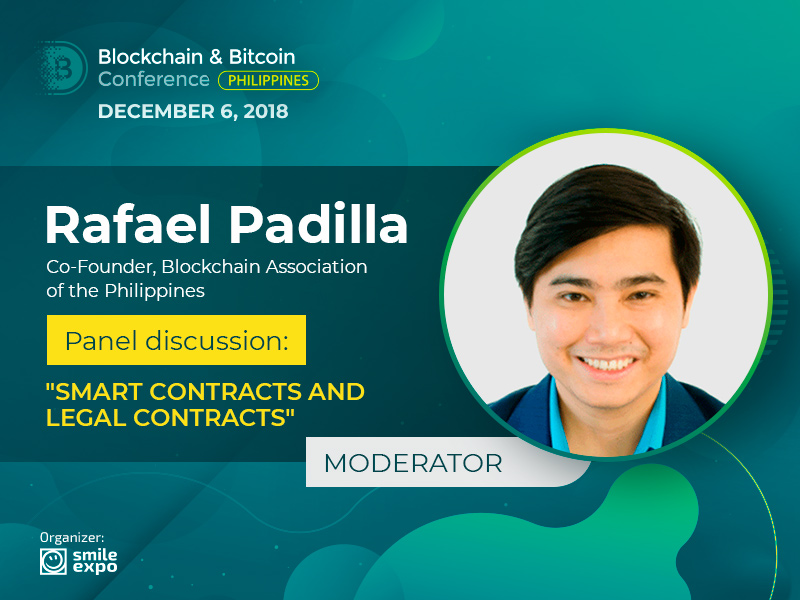 Co-Founder of BAP Rafael Padilla – the Moderator of the Panel Discussion About Smart Contracts