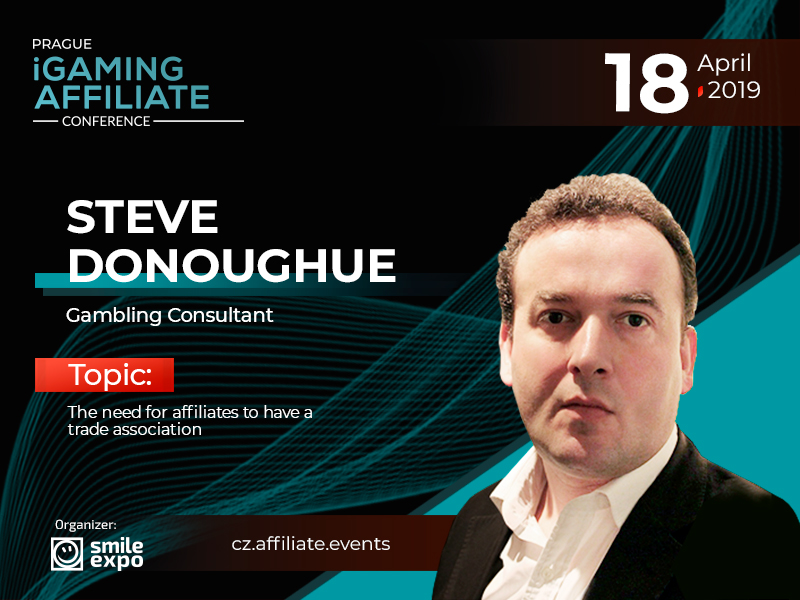 Code of Conduct for Affiliates: Gambling Consultant Steve Donoughue Will Discuss the Topic