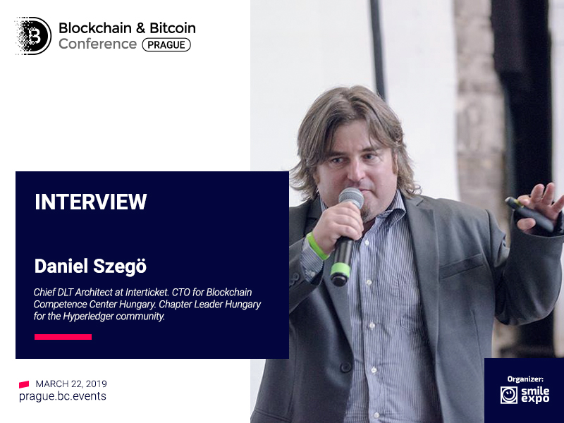 Consortium Blockchain Is for Cooperating and Competing Companies – Daniel Szegö, Chief DLT Architect at Interticket