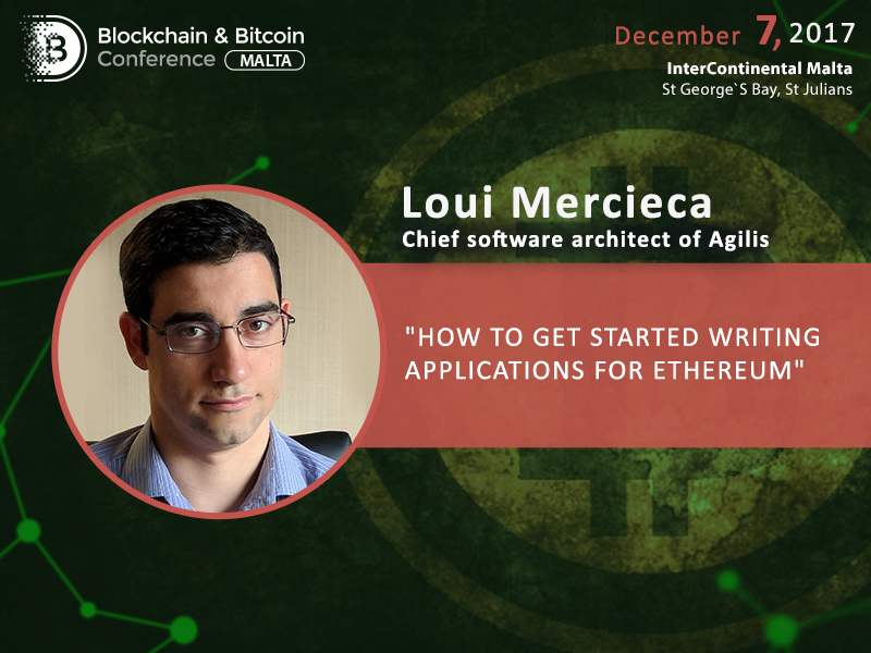 Create your own Ethereum-based app: Loui Mercieca to analyze all development stages