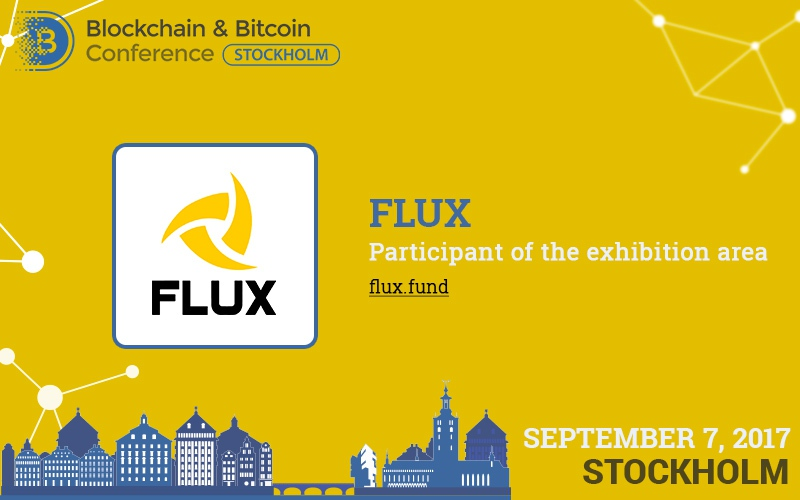 Cross-platform blockchain service FLUX – participant of the conference