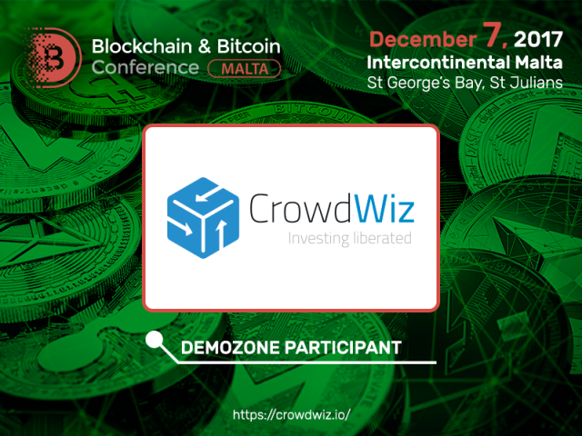 CrowdWiz Independent Cryptocurrency Investment Fund to participate in Blockchain & Bitcoin Conference Malta