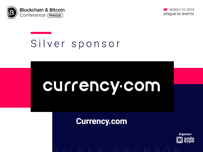 Currency.com: the First Regulated Crypto Exchange to Become a Silver Sponsor at Blockchain & Bitcoin Conference Prague