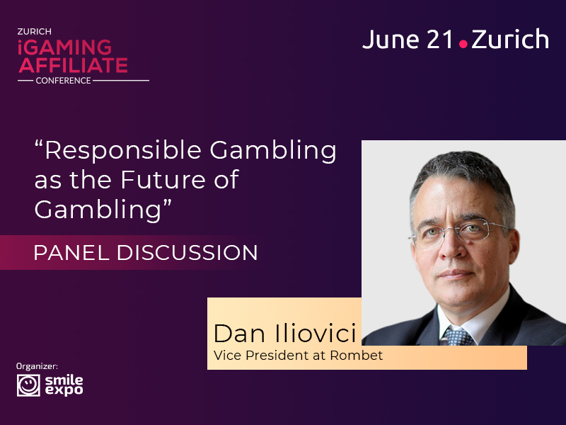 Dan Iliovici, Vice President at Rombet, to Tell Zurich iGaming Affiliate Conference About Responsible Gambling