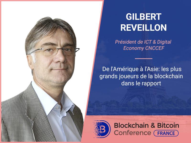 De l'Amérique à l'Asie: les plus grands joueurs de la blockchain dans le rapport du président de ICT & Digital Economy CNCCEF