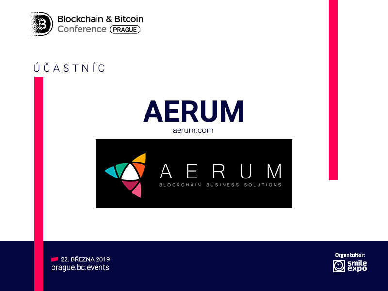 Developers of blockchain platform AERUM to take part in the specialized conference in Prague